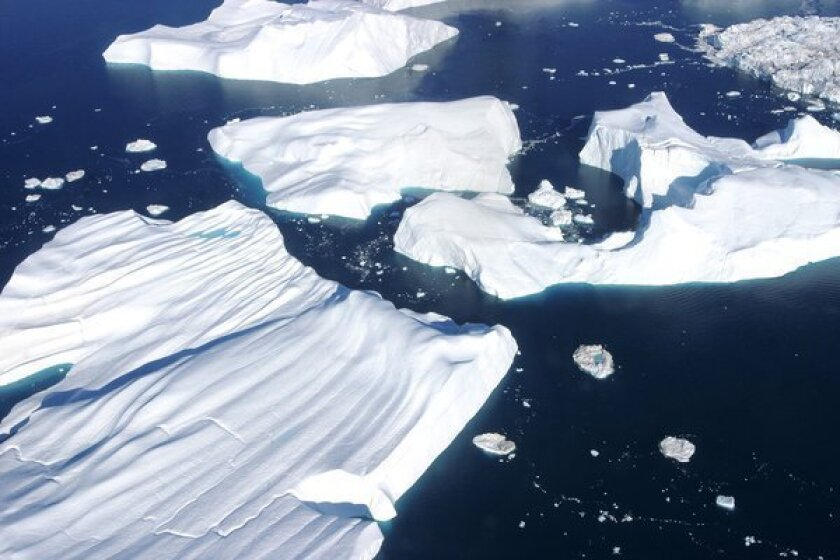 The study's conclusions were based on an analysis of ice core samples from Greenland.