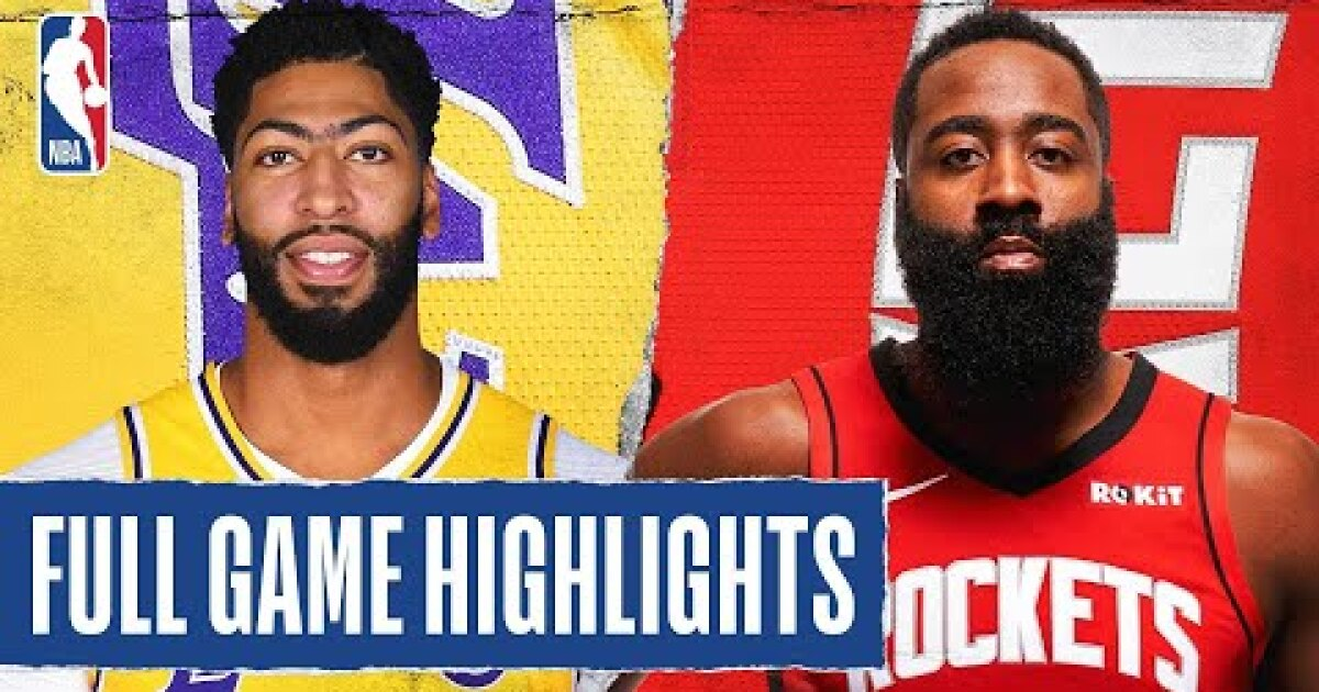 39+ Lakers Vs Rockets Game 4 Highlights Pics - Expectare Info
