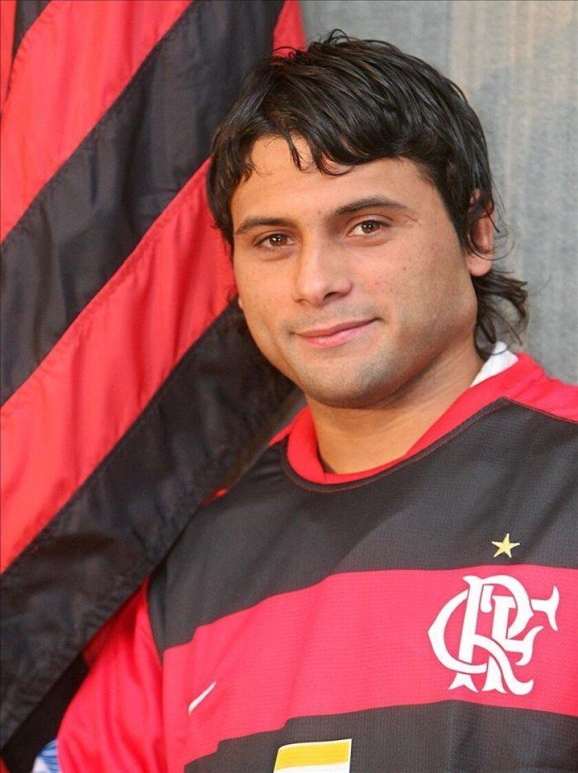 Imagen del delantero argentino Maxi Biancucchi. EFE/Archivo