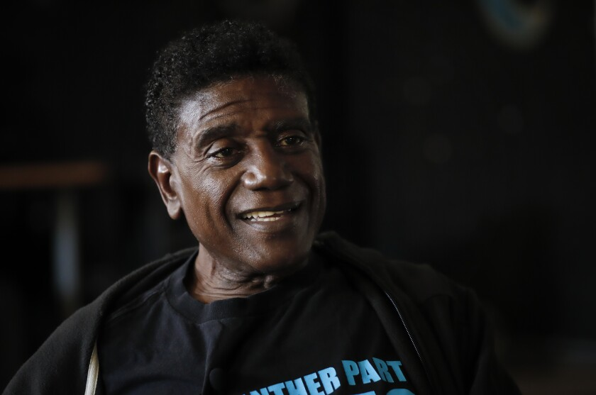 Ben Waddell, 68, has been a Black Panther Party member since he was 15 years old.