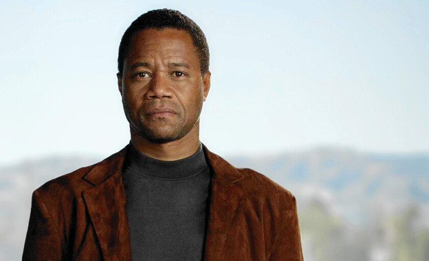 """Cuba Gooding Jr. in """"The People v. O.J. Simpson"""""""