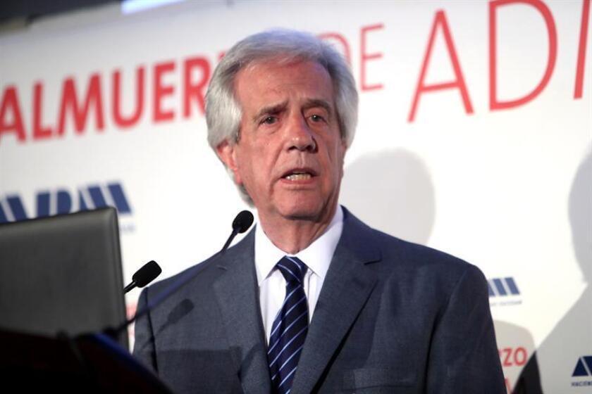 El presidente de Uruguay, Tabaré Vázquez. EFE/Archivo