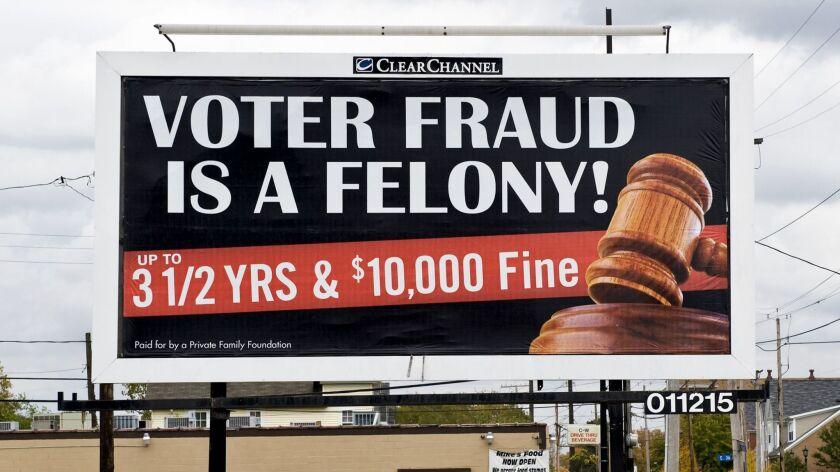 Democrats sue Trump, GOP amid concerns of voter intimidation