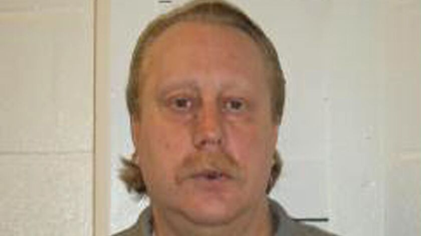 This undated photo provided by the Missouri Department of Corrections shows Russell Bucklew.