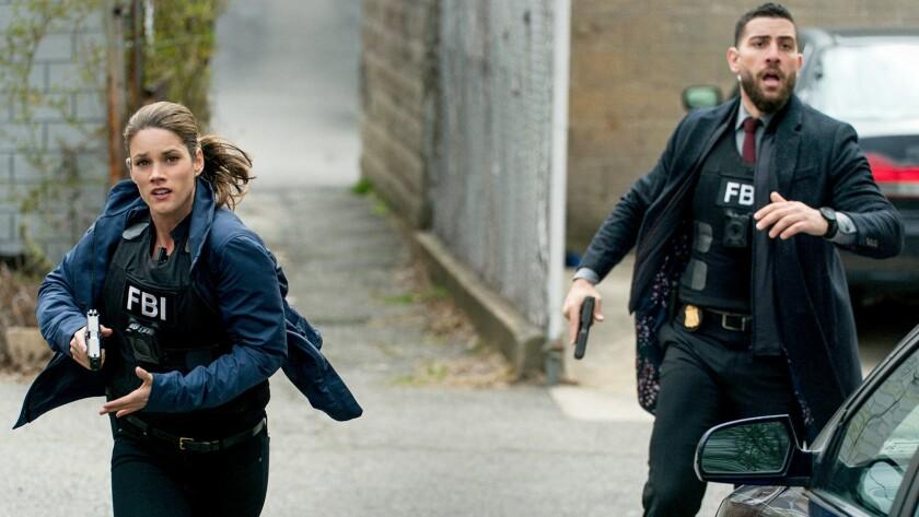 """Missy Peregrym and Zeeko Zaki and """"FBI"""" on CBS."""