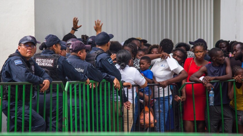 Migrants keep arriving in South Mexico, Tapachula - 12 Jun 2019