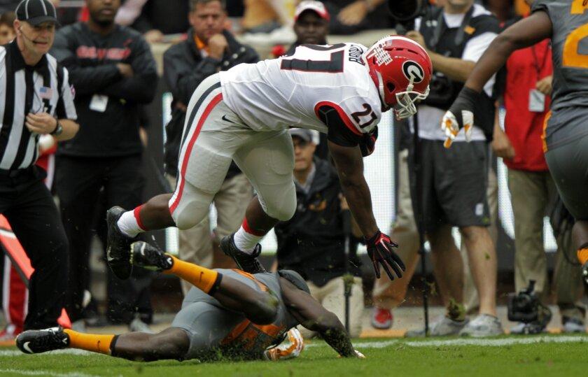 No  19 Georgia loses star RB Nick Chubb to knee injury - The