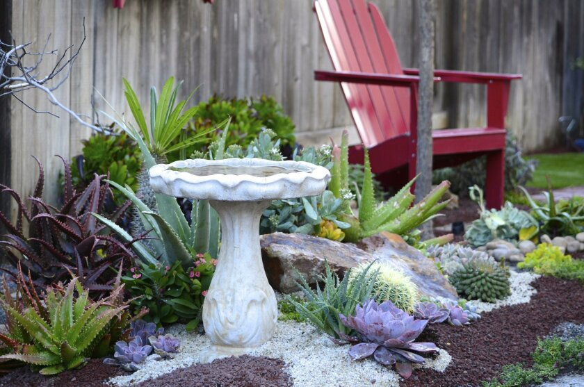 Even the smallest garden can bring serenity.