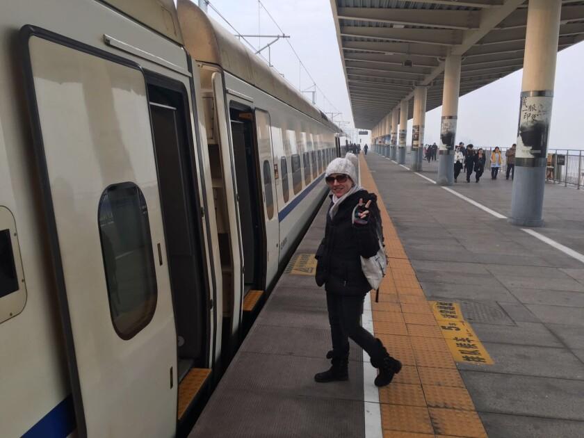Boarding the bullet train