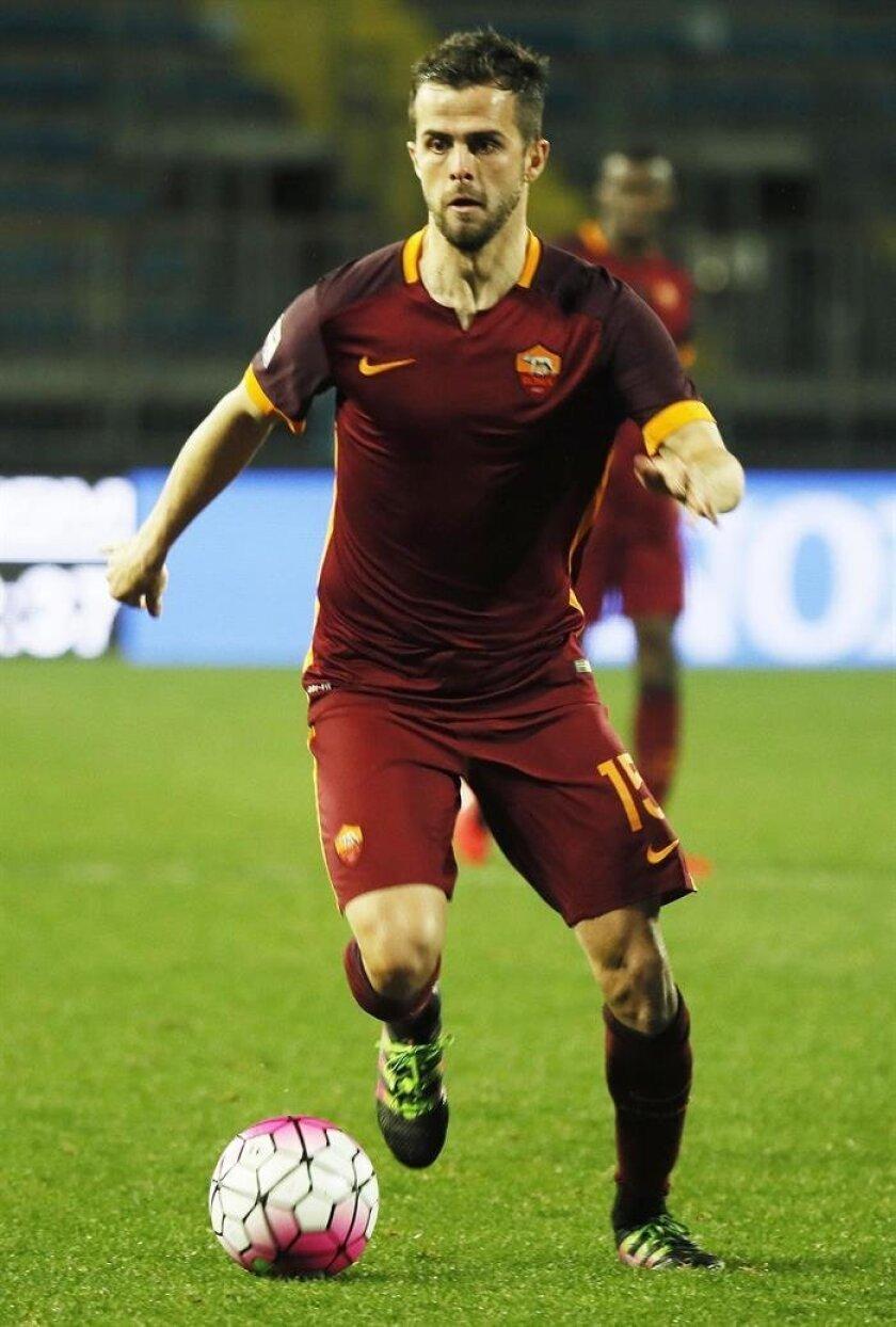 Bosnian midfielder Miralem Pjanic