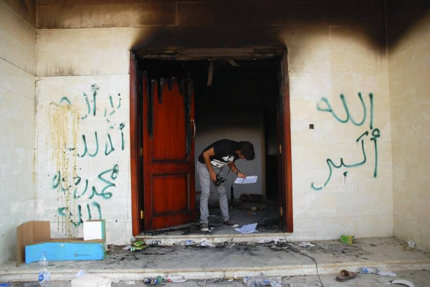 U.S. has filed charges in Benghazi attack