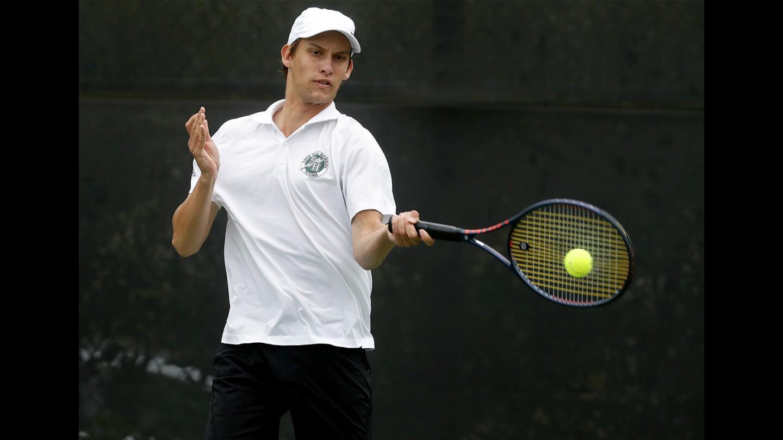Photo Gallery: Sage Hill vs. Ventura in boys' tennis