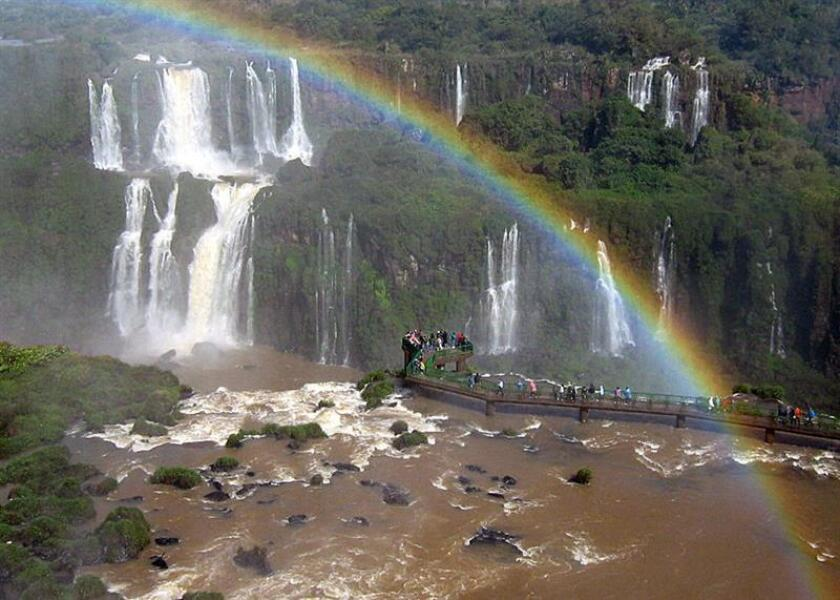 General view of Brazil's Iguaçu National Park and waterfalls on July 23, 2009 between Argentina and Brazil. EPA- EFE FILE/ Carlos Moreno