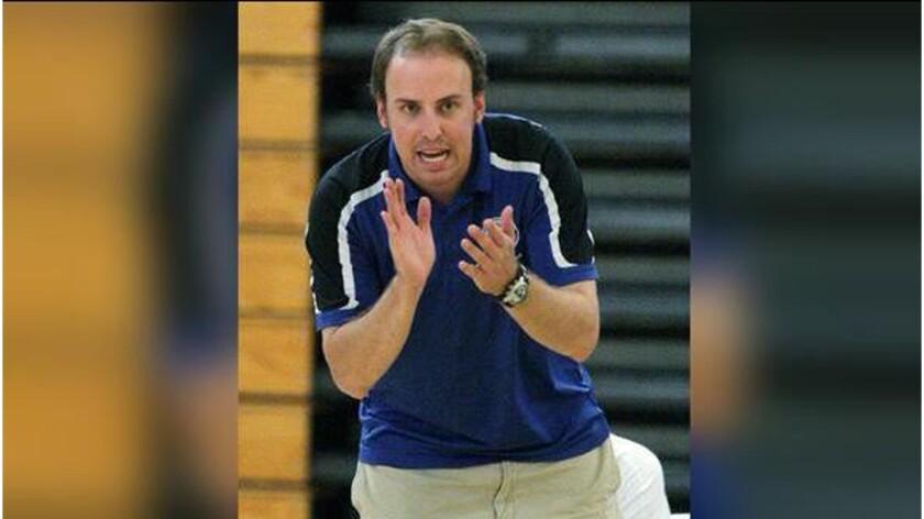 Former Burbank High School coach Kyle Roach.