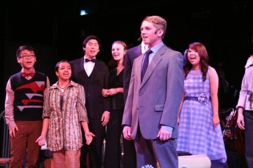 """The Torrey Pines Players' musical """"Company"""" opened on Feb. 20 and runs through March 2 at the Torrey Pines High School Black Box Theater."""