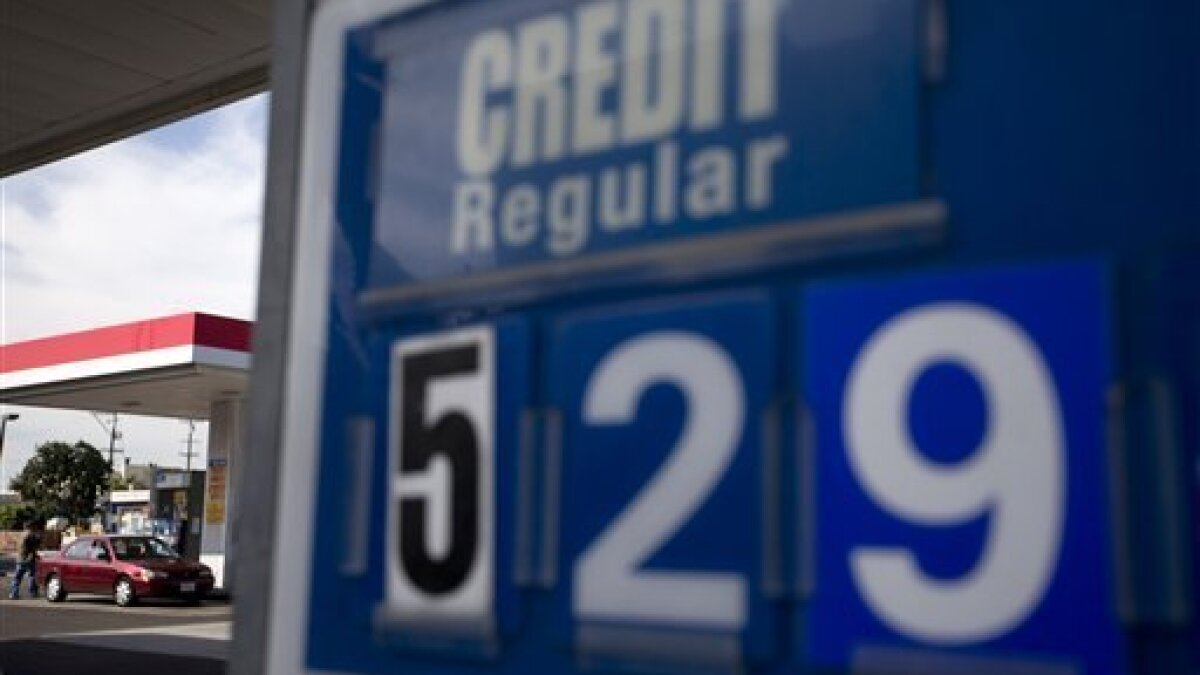 Gas Prices San Diego >> Brown Steps In To Reduce State Gas Prices The San Diego Union Tribune