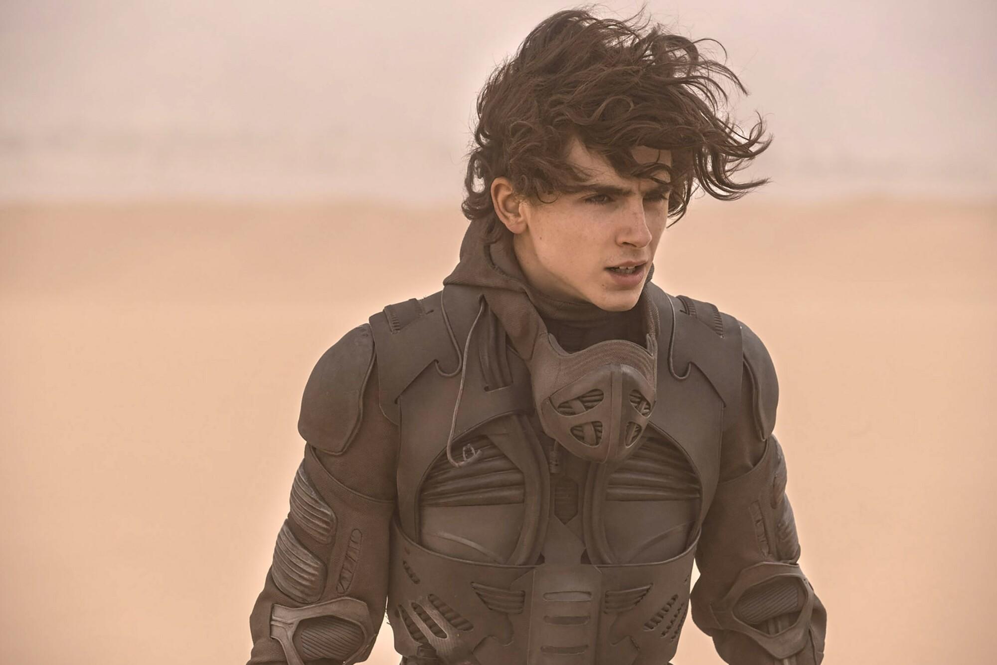 """Timothee Chalamet as Paul Atreides in """"Dune."""""""