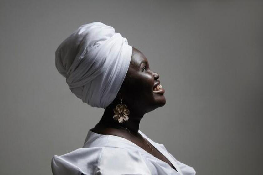 Cuban jazz singer Daymé Arocena comes to The Loft on April 20, 2018 as part of at UC San Diego's ArtPower concert series.