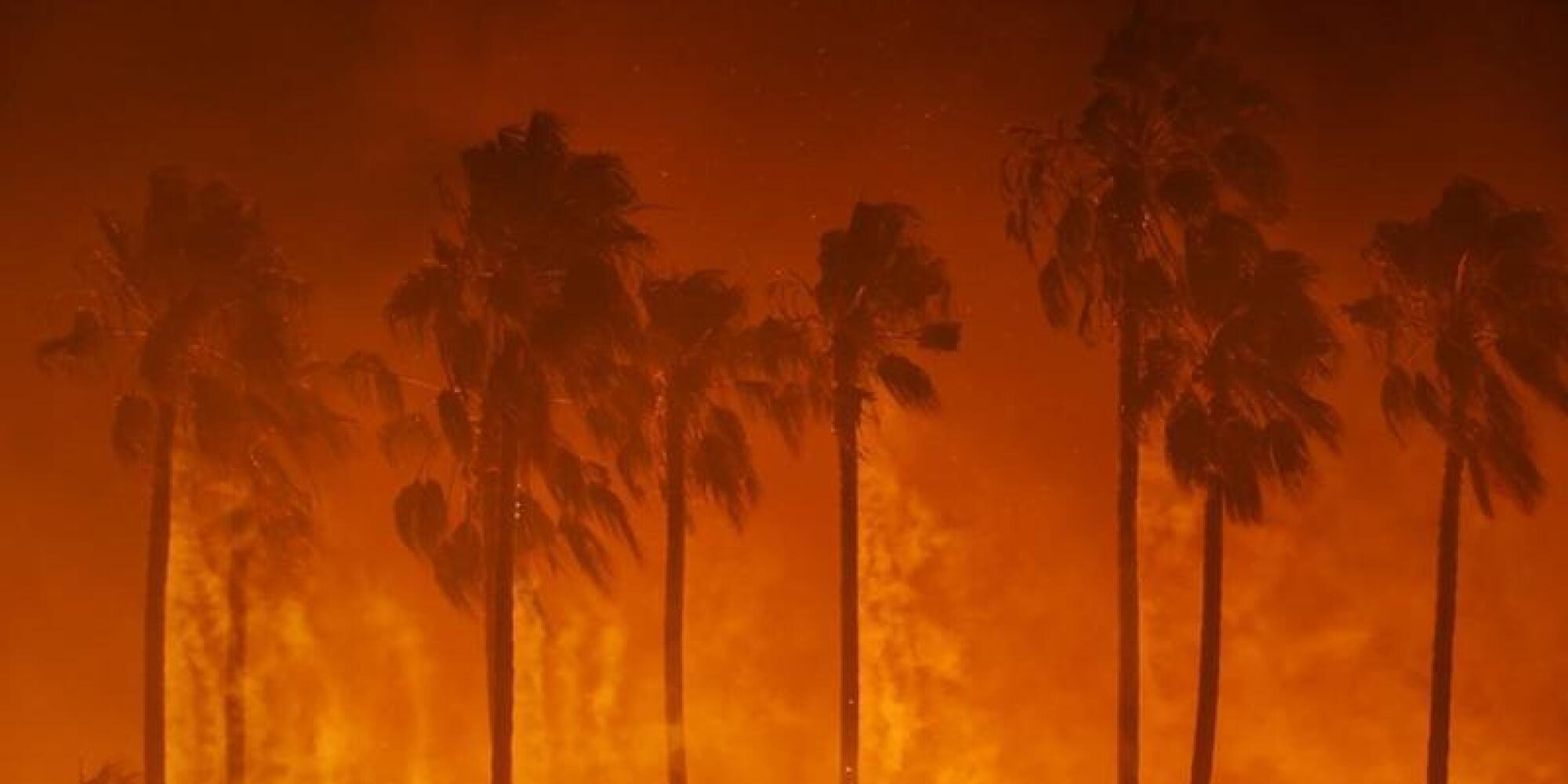 Southern California fires live updates: New evacuation orders issued for Carpinteria and Montecito as Thomas fire again rages out of control
