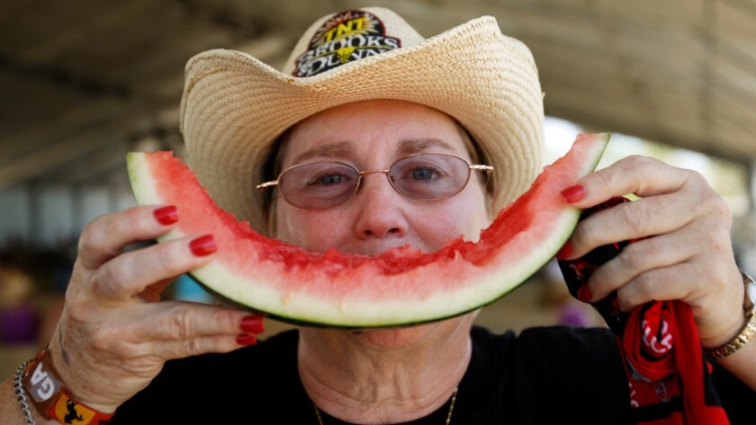 What's better on a hot day than a slice of watermelon?