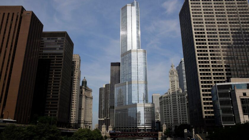 The Trump International Hotel & Tower Chicago in 2013.