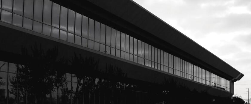 Headquarters of the Faraday Future electric car company in Gardena.