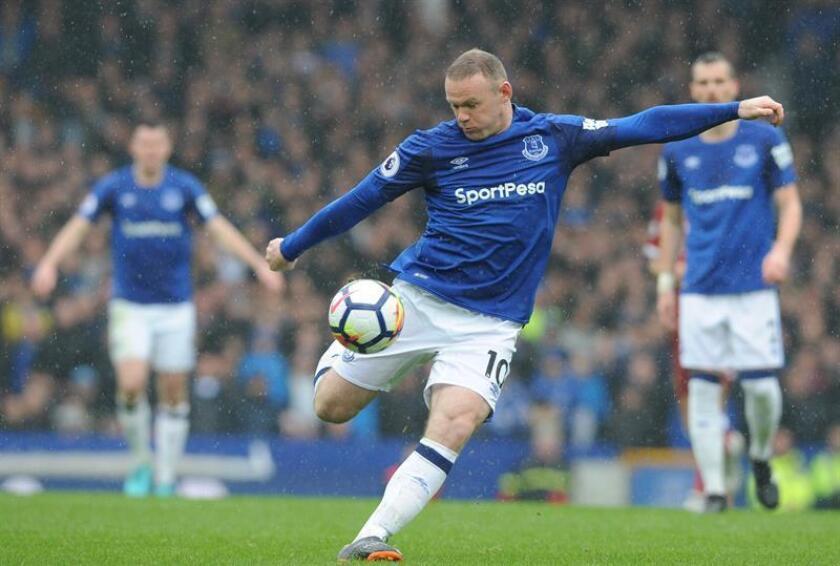 Imagen de archivo del delantero inglés Wayne Rooney. EFE/Archivo