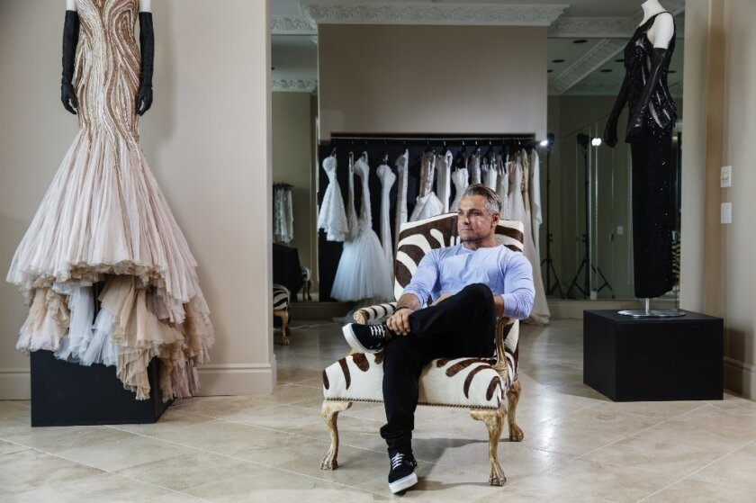 Designer Mark Zunino says he thought he would have a brief run in fashion. However, decades after his start in the fashion industry, his career continues to flourish as he works with celebrity clients such as Sofia Vergara, Mariah Carey and Britney Spears.