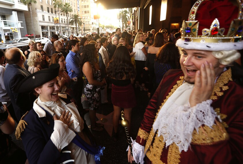 """""""Hamilton"""" preview at the Pantages"""