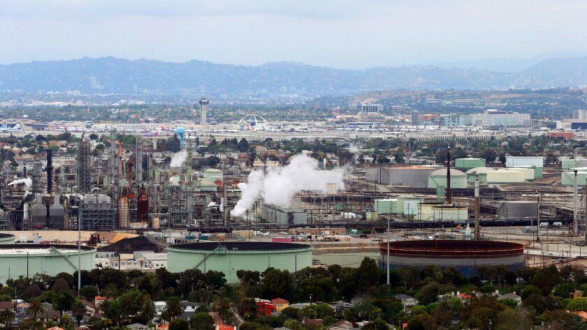 Chevron operates an oil refinery in El Segundo, Calif., near Los Angeles International Airport.