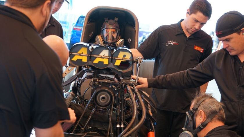 In NHRA, women have traction in race against men - Los