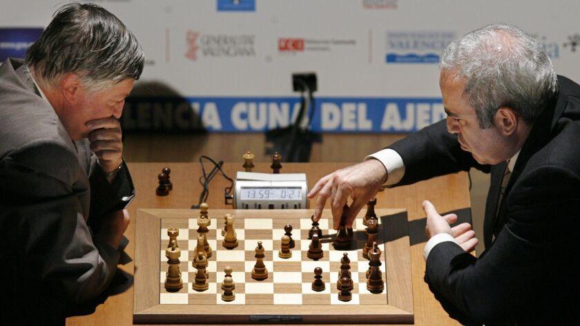 Garry Kasparov, Anatoly Karpov