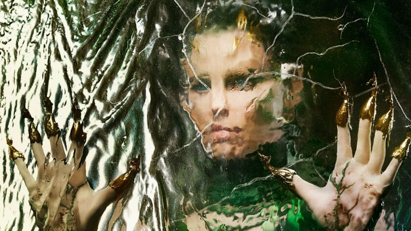 "Elizabeth Banks as Rita Repulsa in ""Saban's Power Rangers."""