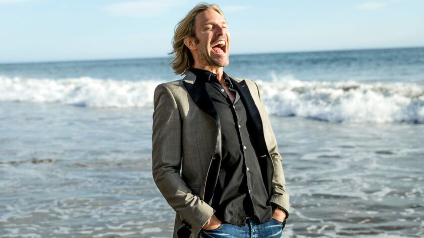 """Eric Whitacre, L.A. Master Chorale artist-in-residence, will conduct """"Big Sing California"""" on Saturday."""