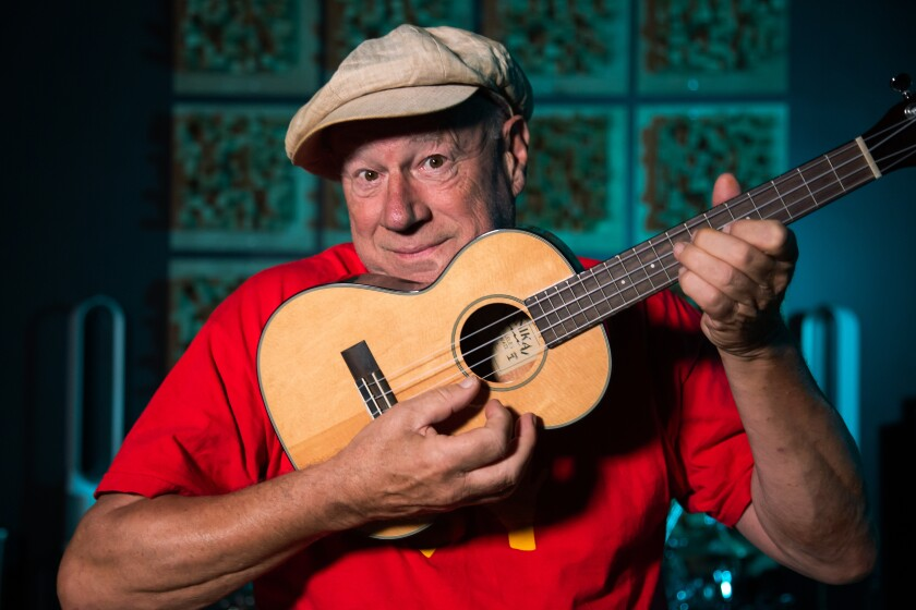 Neil Innes, comedian, musician and creator of The Beatles parody band, The Rutles.