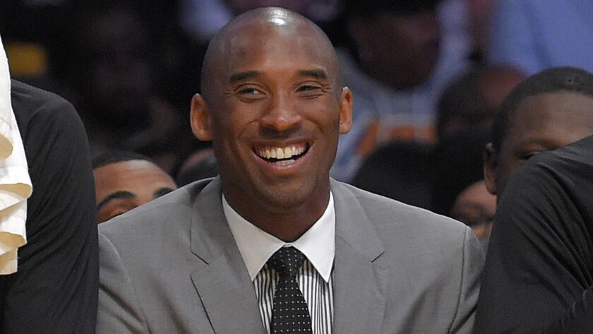 The Los Angeles Public Library has assembled a list of books once recommended by Lakers legend Kobe Bryant, shown in 2015,