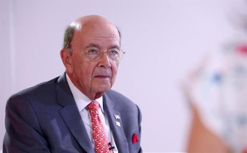 El secretario de Comercio de los Estados Unidos, Wilbur Ross. EFE/Archivo