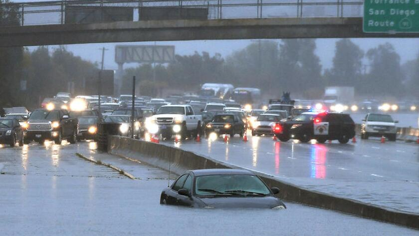 Storm slams Southern California: Expect more flooding and
