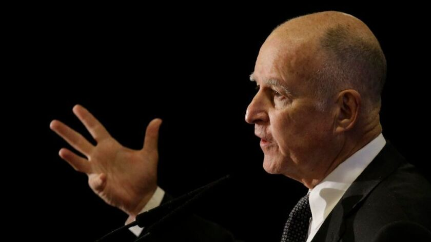 Over the objections from the oil industry, Gov. Jerry Brown signed a bill Tuesday to cap emissions from methane and black carbon, the latest in a flurry of bills aimed at curbing climate change.