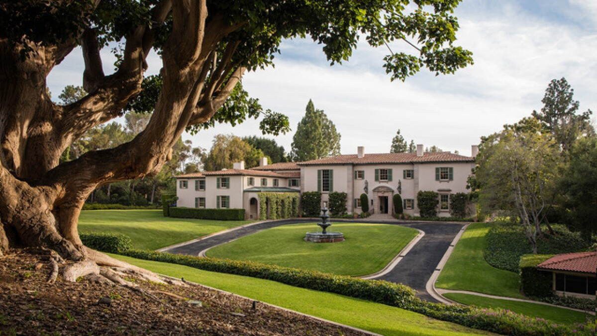 Hot Property: Famed Owlwood estate in Holmby Hills returns to the market