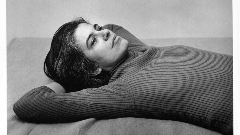 Susan Sontag, Peter Hujar (American, Trenton, New Jersey 1934-1987 New York), 1975; Purchase, Alfred