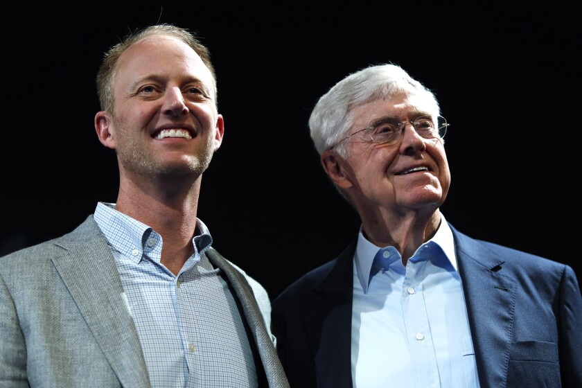 Chase and Charles Koch