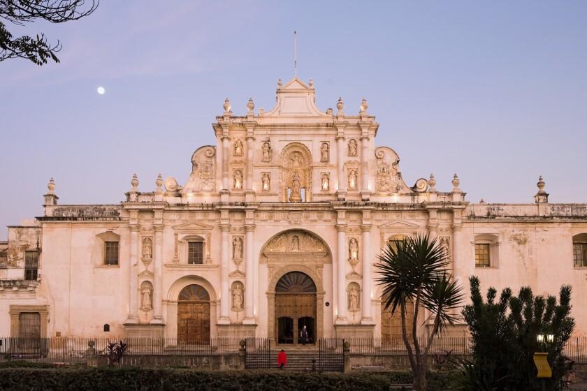 San Jose Cathedral and Central Plaza, La Antigua Guatemala (Unesco site), Guatemala