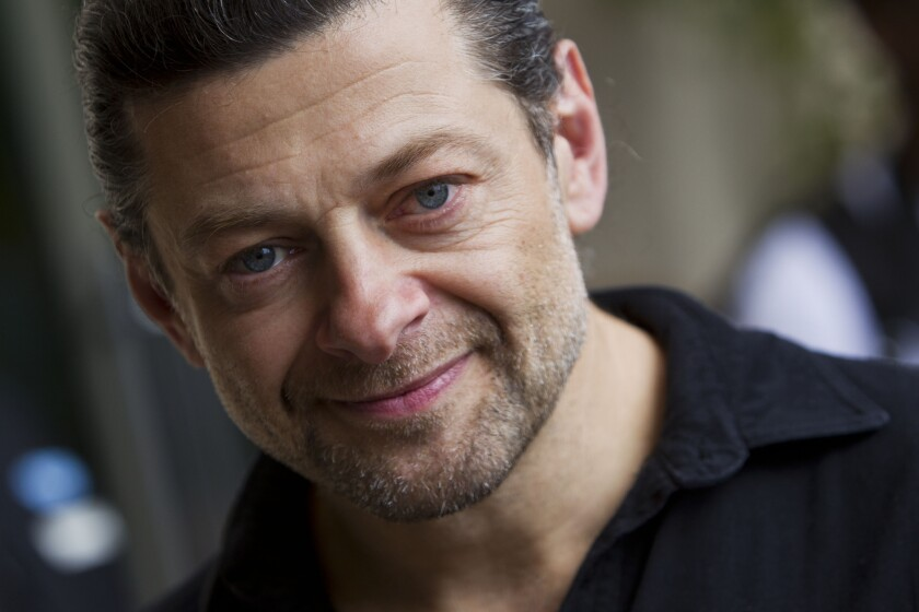 Andy Serkis at Comic-Con 2012 in San Diego.