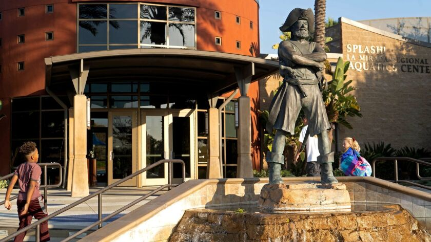 LA MIRADA, CALIF. - JAN. 10, 2019 - Splash! La Mirada Regional Aquatic Center (Jesse Goddard / For T
