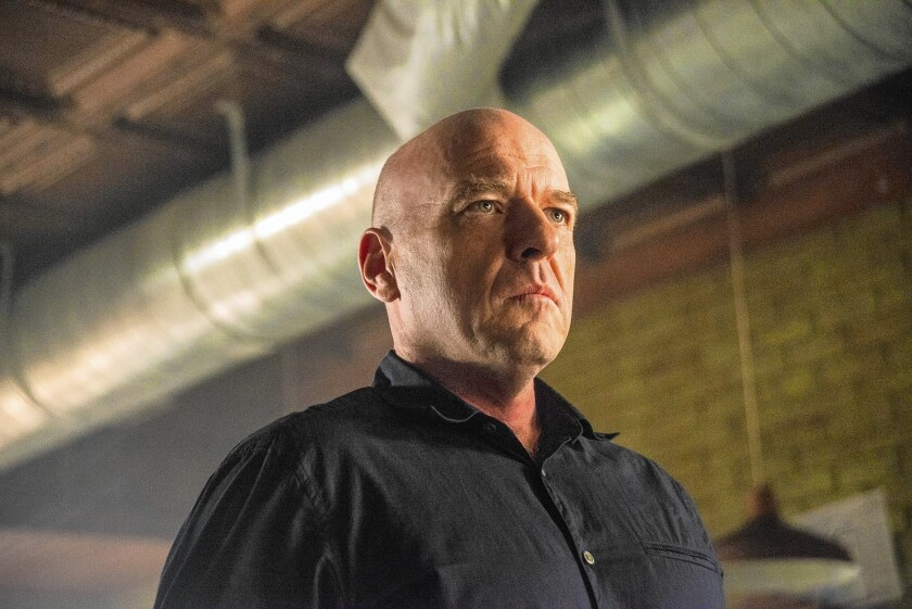 """Dean Norris in """"Under the Dome."""""""