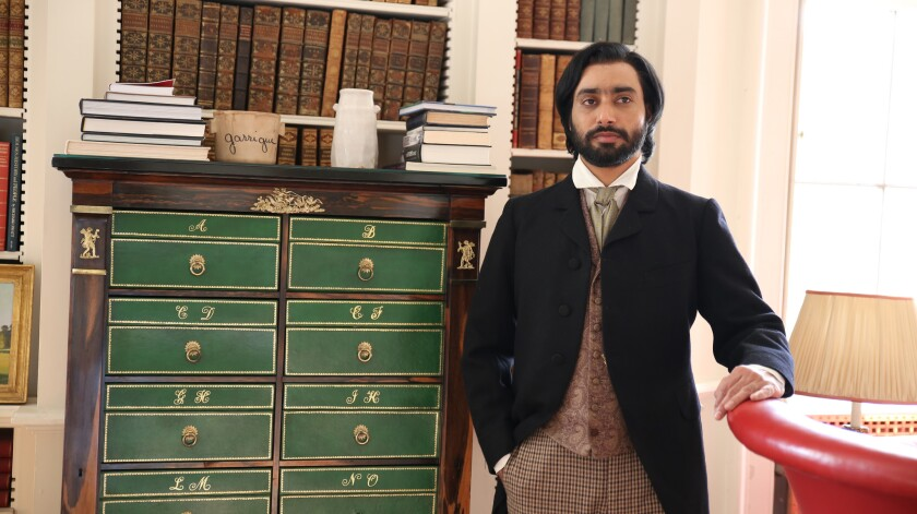 "Satinder Sartaaj in a scene from ""The Black Prince."""