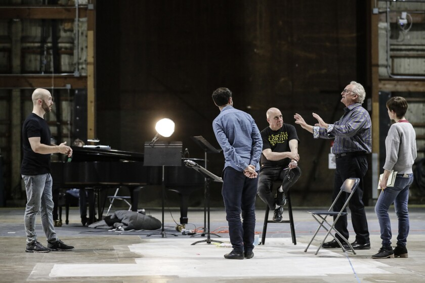 BURBANK, CA, TUESDAY, MAY 28, 2019 - MacArthur Grant winner Yuval Sharon directs Meredith Monk's 199