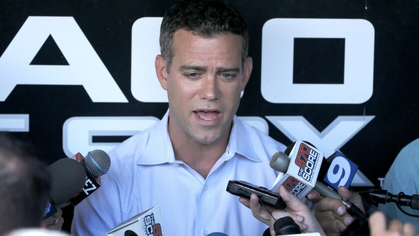 Theo Epstein, the Cubs' president of baseball operations, told the media earlier this season that a contract extension was merely a formality.