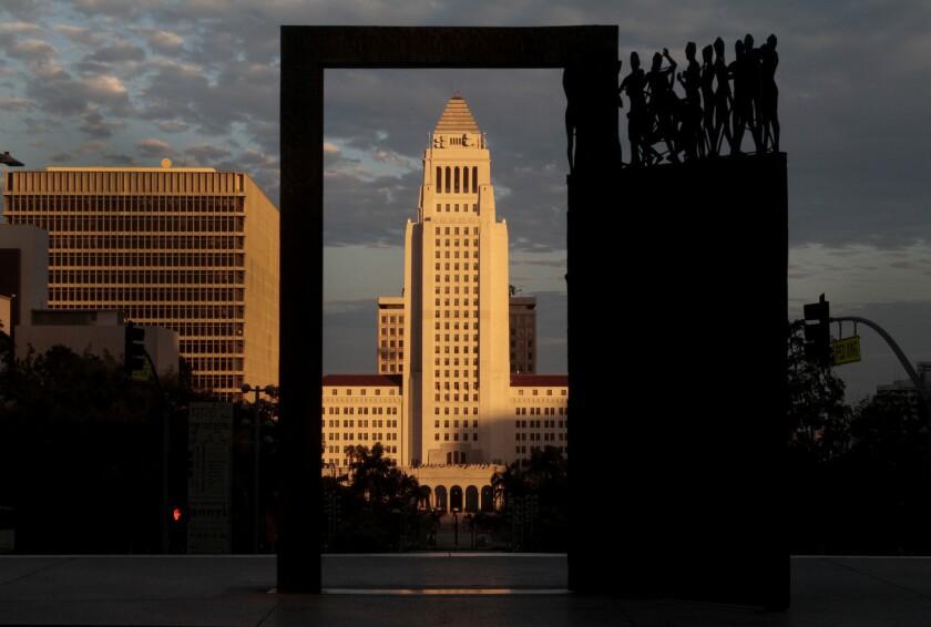 An L.A. city worker has died of coronavirus
